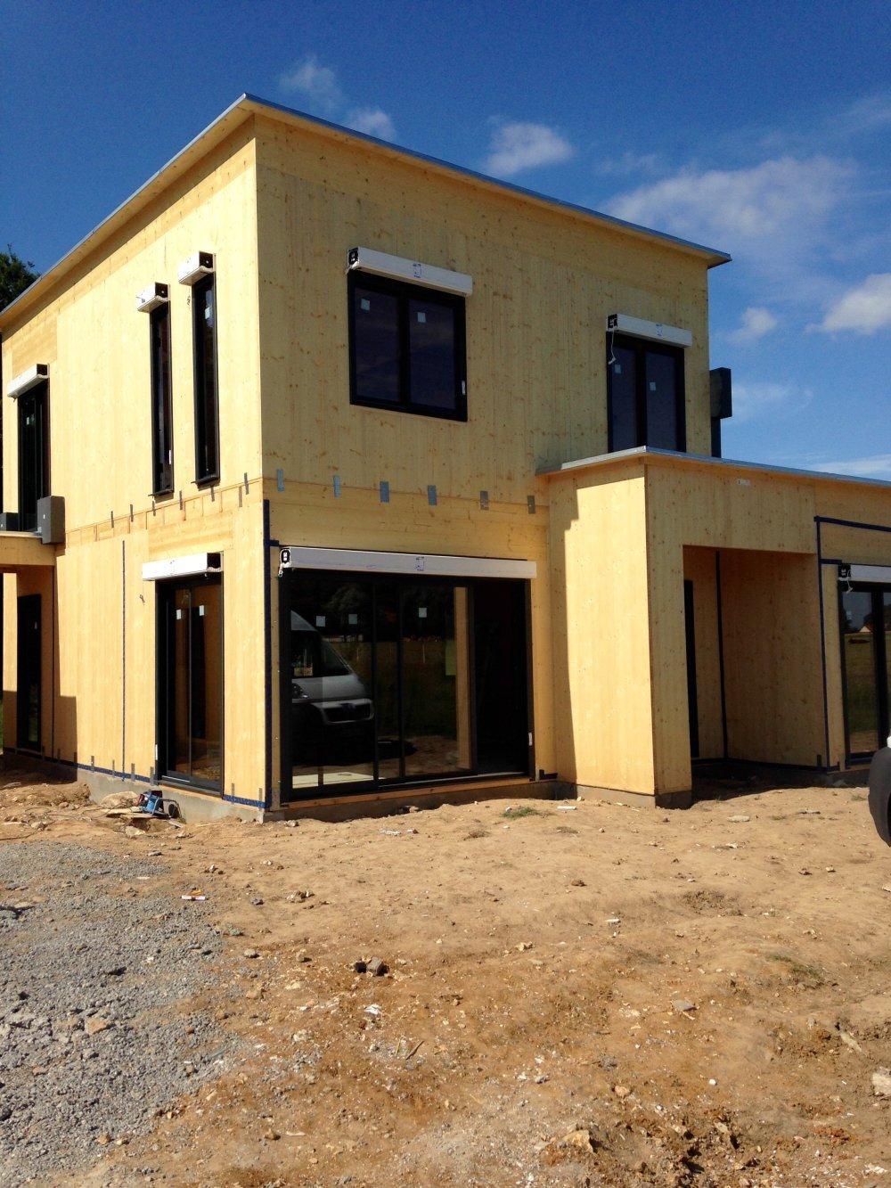 Maison h nouville 76840 for Agrandissement maison hors d eau hors d air